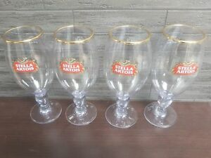 X 2 COLLECTABLES.PARTY GOLD RIMMED Stella ltd Edition Wimbledon Glasses