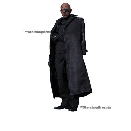 Captain América - The Winter Soldier - Nick Fury 1 6 Action Figura 12  Hot Toys