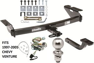 image is loading complete-trailer-hitch-package-w-wiring-kit-fits-
