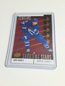 2019-20-Upper-Deck-John-Tavares-Shooting-Stars-Red-Centers-SSC-9-Maple-Leafs
