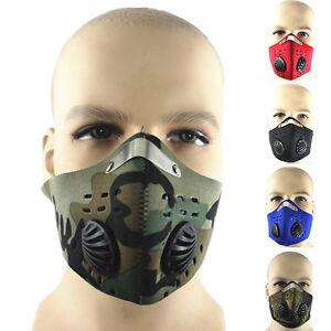 Anti-Dust-Motorcycle-Bicycle-Cycling-Ski-Half-Face-Mask-Filter-UK