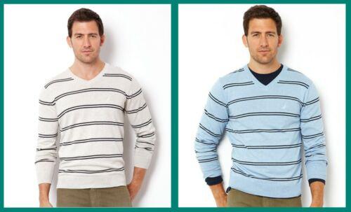 Nautica ~ Luxury Performance Men/'s V-Neck Sweater $50 NWT