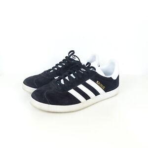 ADIDAS-Originals-Gazelle-Sneaker-Turnschuhe-Schwarz-Weiss-BB5476-Gr-EUR-38