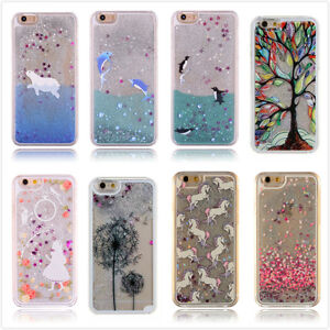 Dynamic-Liquid-Glitter-Quicksand-3D-Pattern-Hard-Case-Cover-For-iPhone-7-6s-Plus