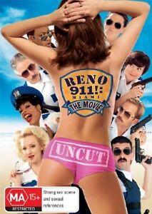 Reno-911-Miami-DVD-2007-ExRental-FOLDED-Sleeve-NO-Plastic-Case