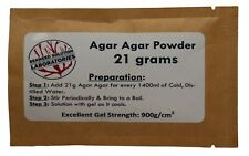 Agar Agar Powder 34 Ounce 21 Grams All Natural Seaweed Free Shipping