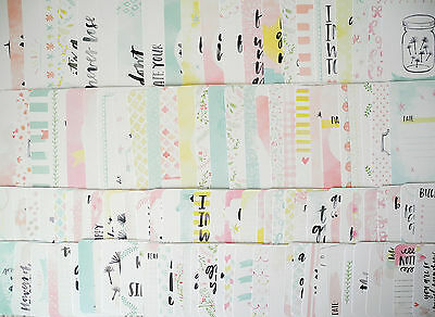 Inspire NEW Edition Higgins 50 x Project Life Cards Set 4x6 & 3x4 Journaling