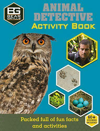 Bear Grylls Activity Series: Animal Detective by Bear Grylls, NEW Book, FREE & F