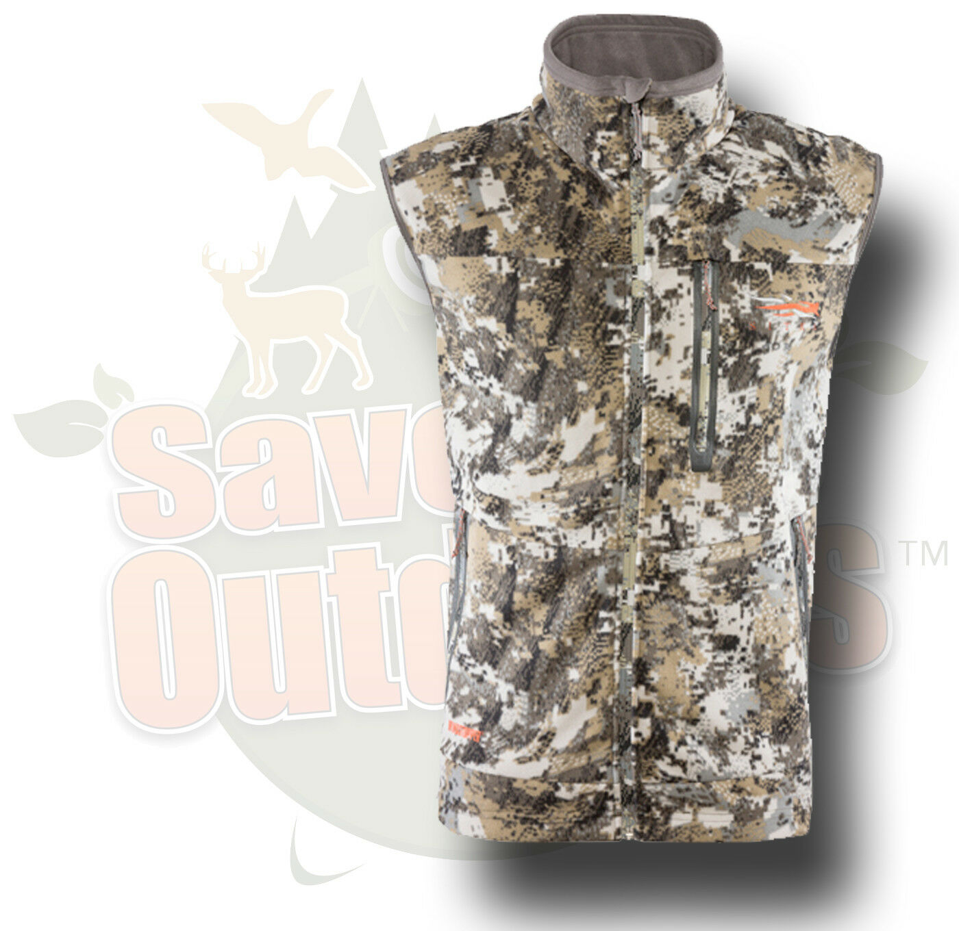 Sitka Gear Stratus Vest Optifade Elevated Whitetail  Camo MD Medium 50092-EV-M  online fashion shopping