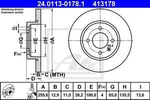 Disque-Disques-de-Frein-2-Pieces-pour-Volvo-CX90-I