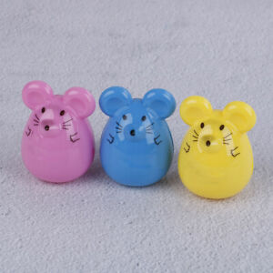 2pcs-Kawaii-lovely-plastic-mouse-manual-pencil-sharpener-stationery-gift-AU