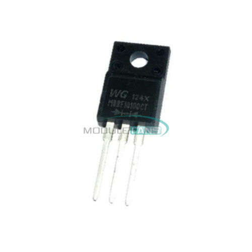 20PCS MBRF10100CT 10100 10A 100V ON DIODE SCHOTTKY NEW TO-220 2XI4