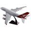 Qantas-Airways-Australia-Airlines-Airbus-A380-Airplane-45cm-DieCast-Plane-Model thumbnail 7