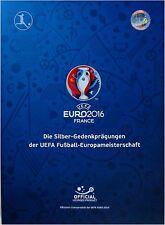 MDM Album UEFA EURO 2016 Fussball EM Frankreich France+ 10 EURO + 2 EURO + Flyer