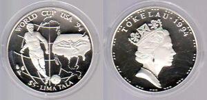 1994 - Tokelau - 5 $ Lima-Tala - Fußball-WM 1994 USA - Querpass - PP - 25000 Ex. - Deutschland - 1994 - Tokelau - 5 $ Lima-Tala - Fußball-WM 1994 USA - Querpass - PP - 25000 Ex. - Deutschland