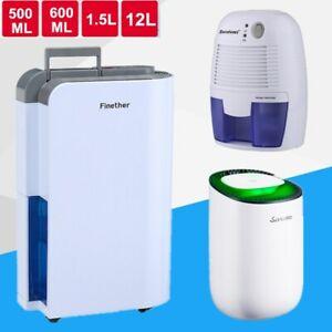 Details about 500ML 1.5L 12L Portable Air Dehumidifier Purifier Mould Moisture Dryer Damp