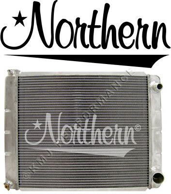 Northern 209640 Double Pass AN-16 Inlet Outlet Right Aluminum Radiator 19x31