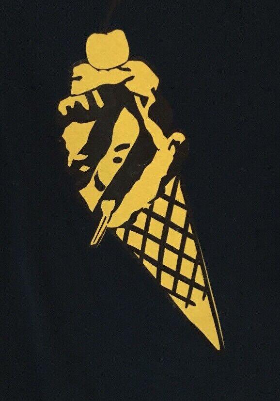 BBC Ice Cream T Shirt XXL Pharrell Bape MADE IN JAPAN DS Logo Billionaire Boys