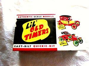 Vintage-LIL-039-OLD-TIMERS-1913-MERCER-RACEABOUT-PLASTIC-MODEL-KIT