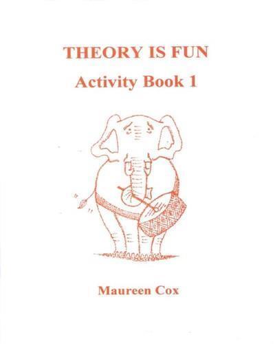 Theory Is Fun Activity Book 1 Maureen Cox Music Theory Fun Gift Music Exam Learn