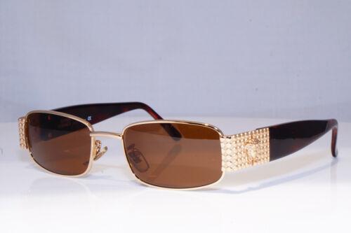 GIANNI VERSACE homme femme vintage lunettes de soleil or mod X39 030 18317
