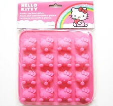Hello Kitty Eiswürfel Schoko Form p:os NEU OVP Silikon pink 16er -30 /+200 Grad