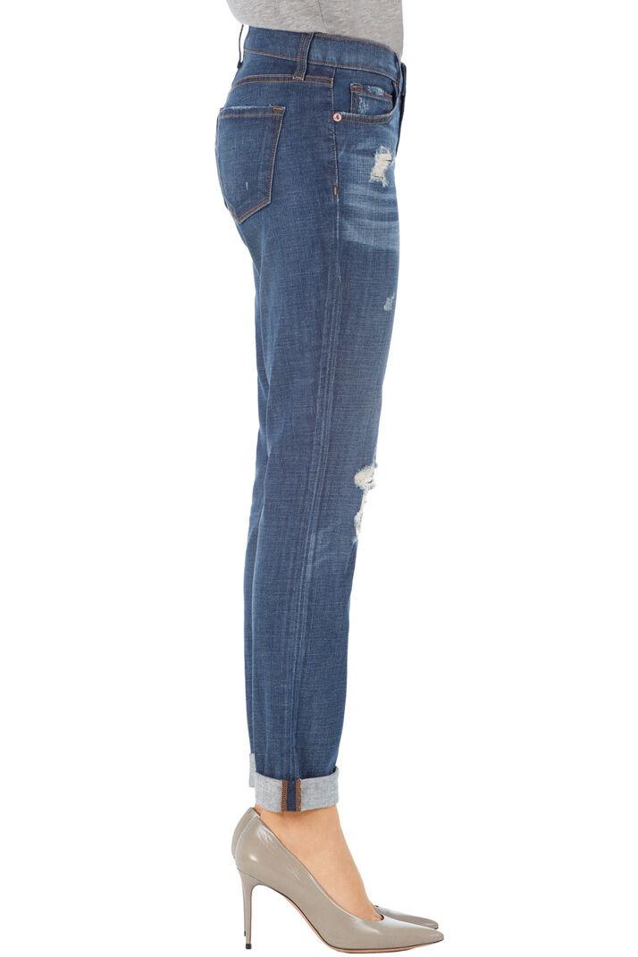 J Brand Midori Ragazzo Jeans in Flintlock. Denim Usurato, S.28