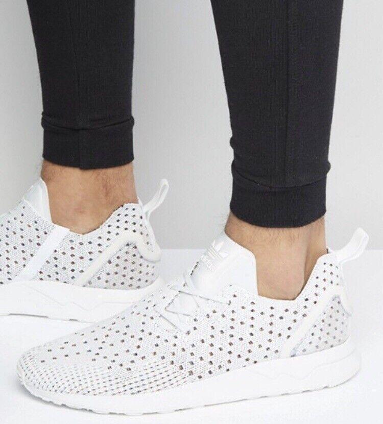 Adidas Originals ☁️ZX Flux S76369 Turnschuhe Knit 39 weiss Limited Design Edition