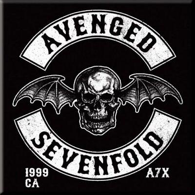 Avenged Sevenfold Fridge Magnet Calamita Bat Death Official Merchandise Quell Summer Thirst