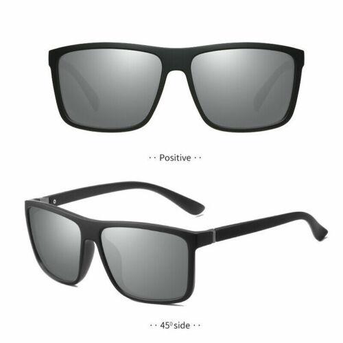 NEW Polarized Mens Sunglasses Polarised New Style Square Frame Glasses