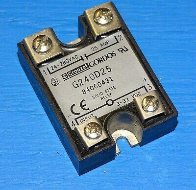 GORDOS Crouzet Crydom  GA1-4B02 Solid State Relay 3A 250VAC NEW IN BOX!