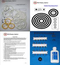 1979 Bally Paragon Pinball Machine Basic Tune-up Kit - Includes Rubber Ring Kit!