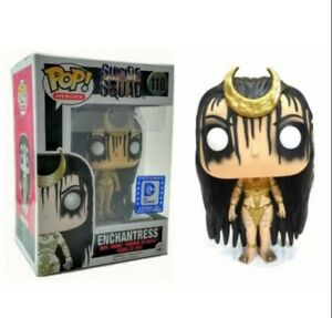 Heroes #110 Funko Enchantress Suicide Squad Exclusive Box Legion Collectors POP