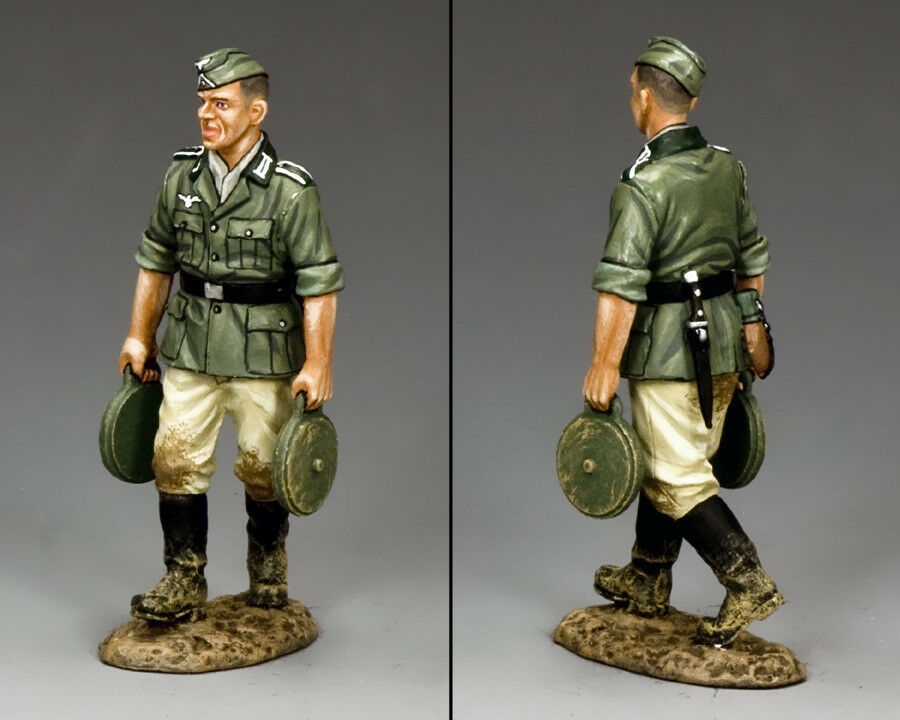 KING AND COUNTRY WW2 German Engineer with Land Mines WH026