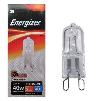 4 x PHILIPS LED capsule 3,2-40W Stiftlampe G9 Warm 2700K Stecksockellampe Kapsel