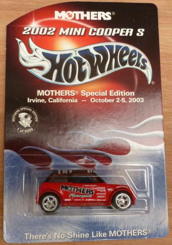 Hot Wheels mères 2002 MINI COOPER S édition spéciale