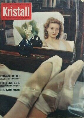 Kristall 14. Jahrg. 4. Vj. 1959 Nr.24 B-17464 Elegant Im Geruch