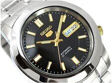 Seiko 5 Automatic Mens Watch 21 jewels Skeleton back SNKK17K1 UK Seller