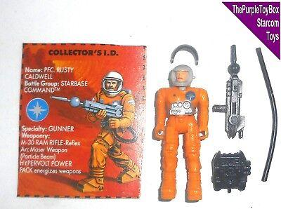 STARCOM 1980/'s Pfc Rusty Caldwell figure  coleco version