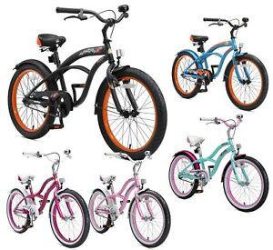 Dettagli Su Bikestar Biciclette Per Bambini Bici Bimbo Bimba Da 6 Anni 20 Pollici Cruiser