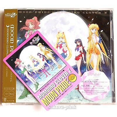 Moon Pride Sailor Moon Crystal CD Blu-Ray with Promo Card by Momoiro Clover Z
