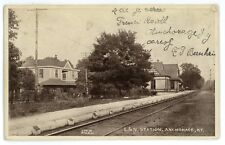 L&N Louisville Nashville Railroad Station Depot ANCHORAGE KY Kentucky Postcard