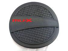 FOR NEW ISUZU MU-X 2014 UTE MATTE BLACK FUEL OIL CAP TANK COVER TRIM V.4