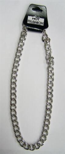 BUY 1 GET 1 FREE HEAVY SILVER 18 IN MENS METAL CHAIN LINK NECKLACE jewelry NEW
