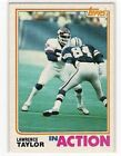 1982 Topps Lawrence Taylor #435 Football Card