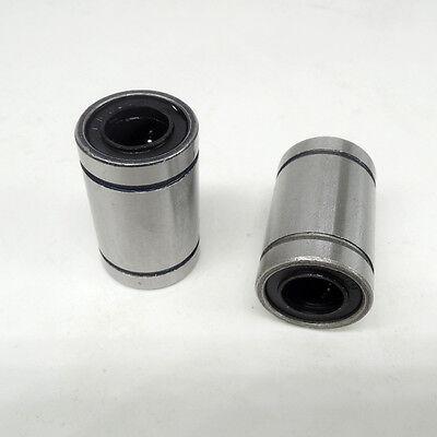 LM8//10//12//16UU Linear Bush Ball Bearing Bushing For 3D Printer Wheel Slider