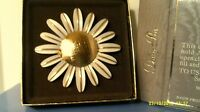 Rare Vintage 1970 Avon Daisy Pin -holds Perfume Glace -new In Box -free Shipping