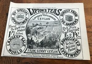 1897-large-printed-advert-for-liptons-tea-gardens-ceylon