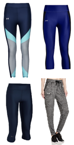 Image is loading New-Under-Armour-Women-039-s-Capris-Leggings- 0766cd119a428