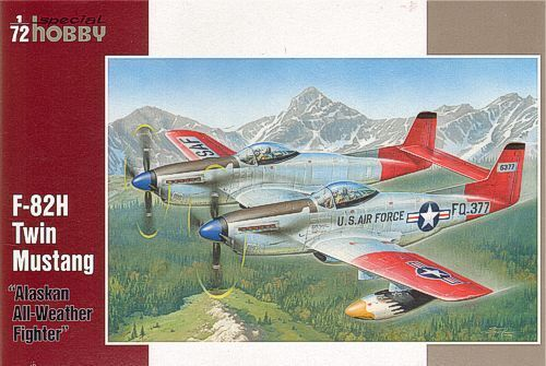 Special Hobby 1 72 F-82H Twin Mustang Alaskan All-Weather Fighter